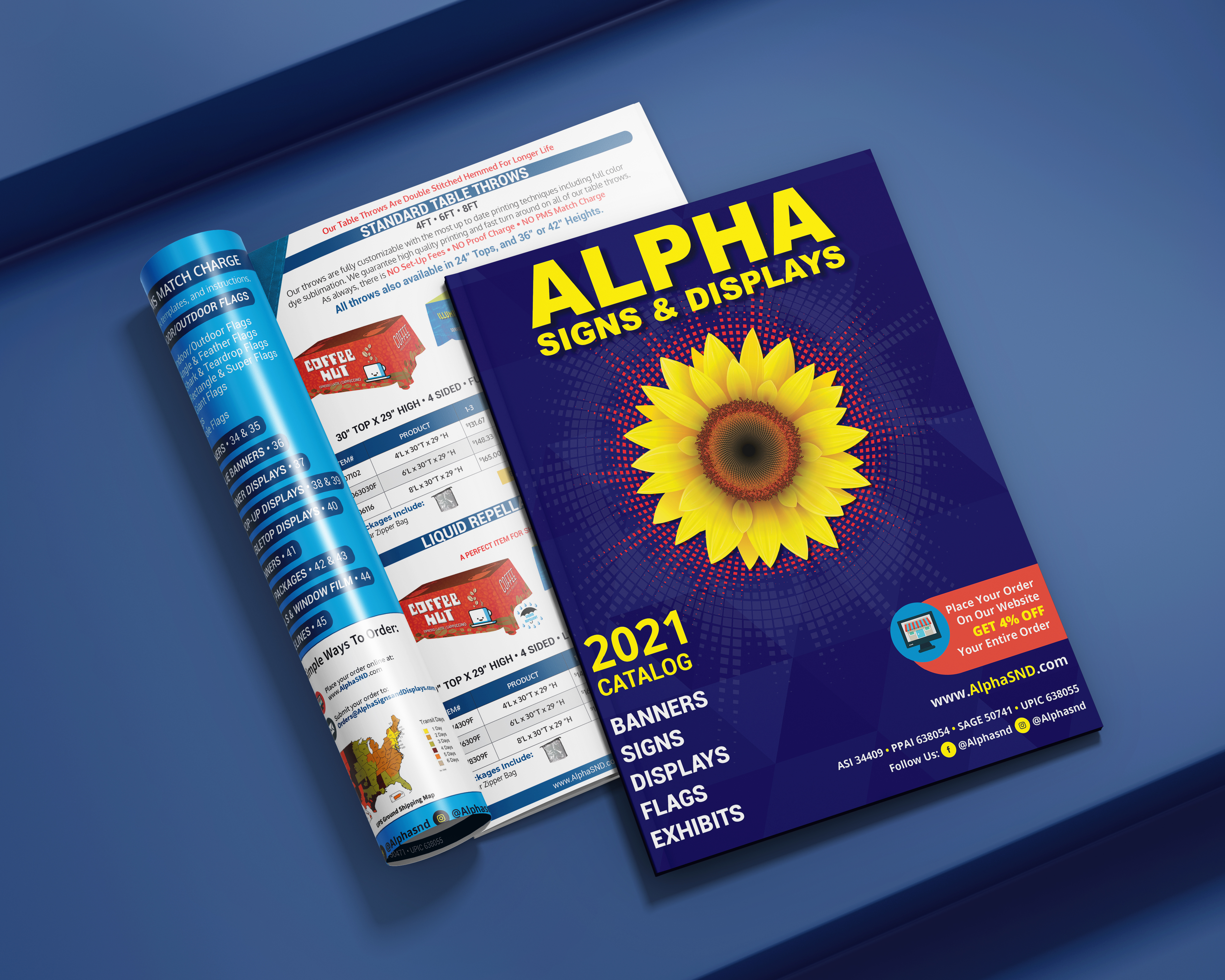 New 2021 Alpha Signs and Displays Catalog
