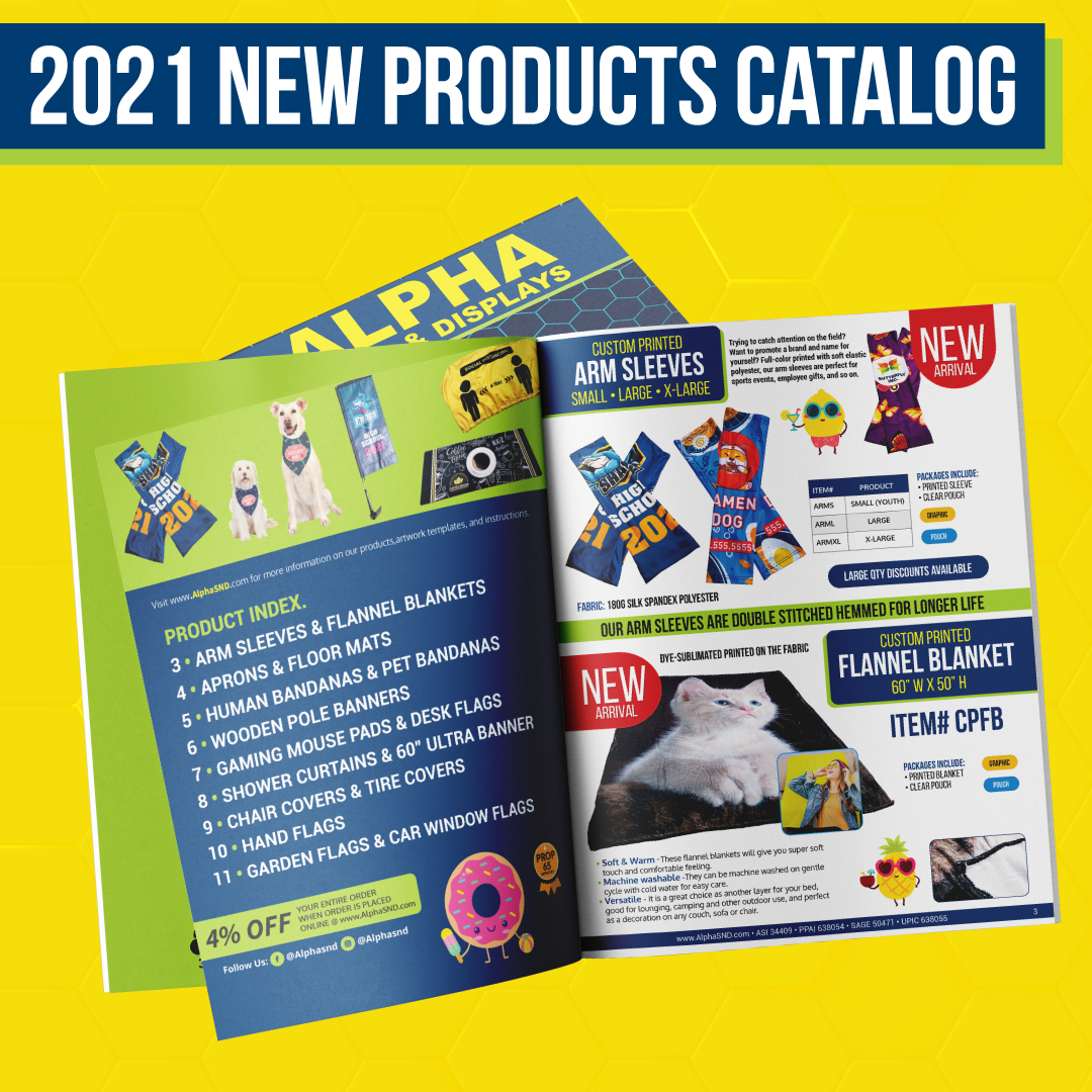 The 2021 New Products Catalog