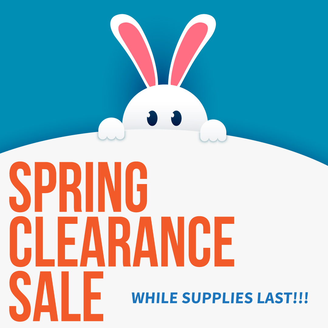 Spring Clearance Sale!
