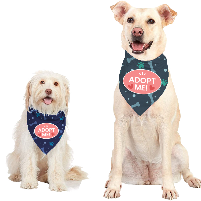 Large - Custom Dog Bandana