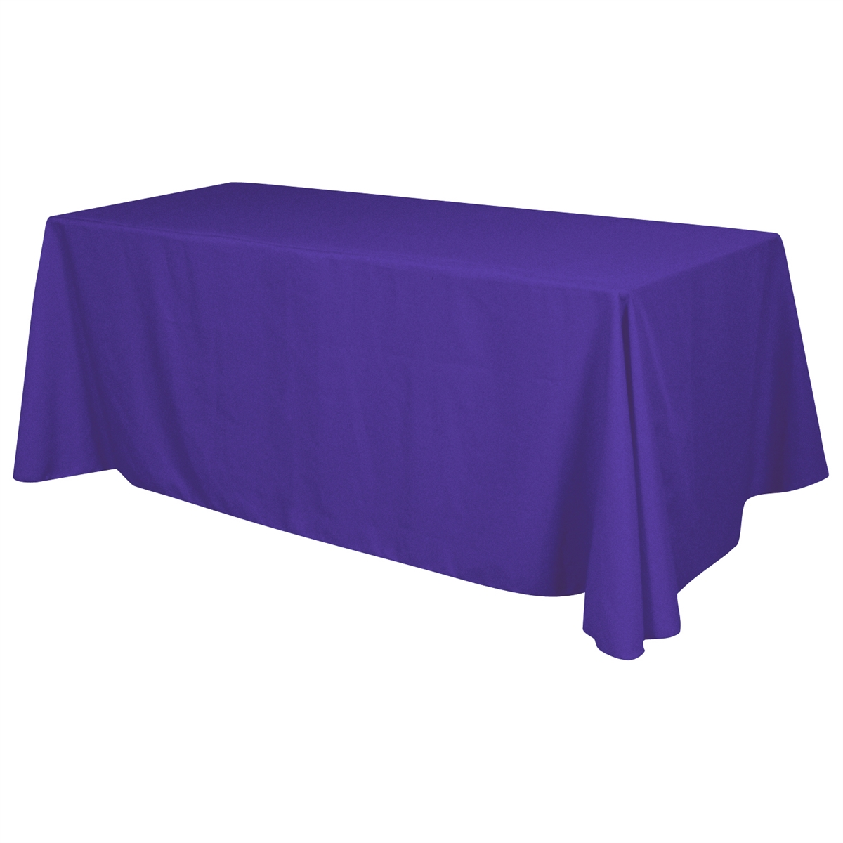 8 ft x 30 x 29 Standard Table Throw - BLANK Standard Table Throw - 4 Sided No Imprint