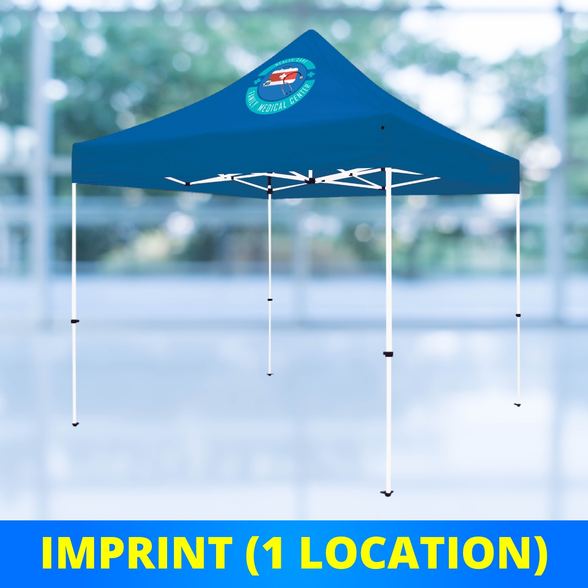 10 x 10 Select Canopy 30mm Square Steel Frame Tent - UV Printed Full-Color Imprint (1 Location)