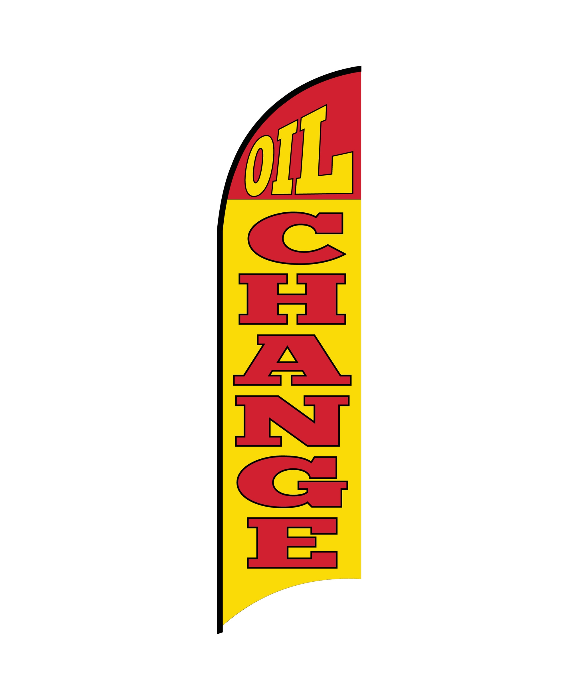 OIL CHANGE 2 FLAG PRINT ONLY (Medium)