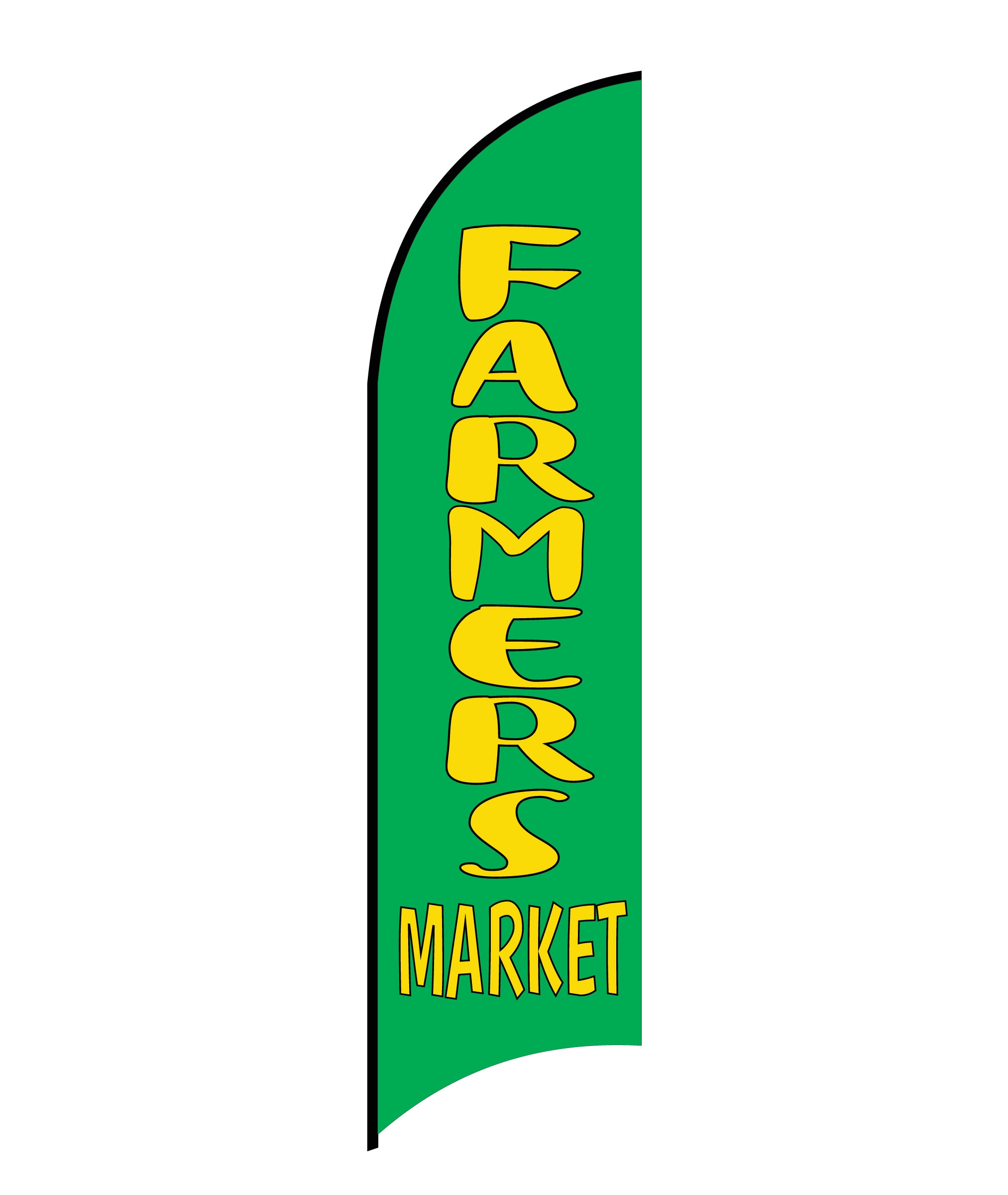 FARMERS MARKET FLAG PRINT ONLY (Medium)
