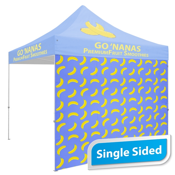 10 FT. Tent Back Wall - Full Color Single-Sided Graphic