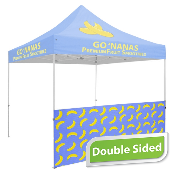 10 FT. Tent Sidewall - Full Color Double-Sided Graphic
