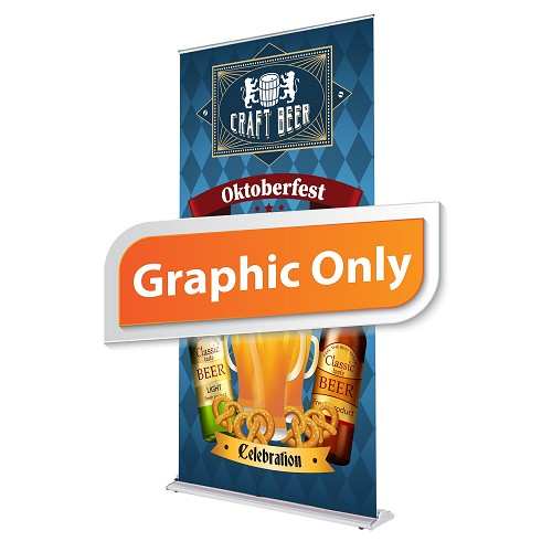 "48"" Ultimate Retractable Banner (Graphic Only)"